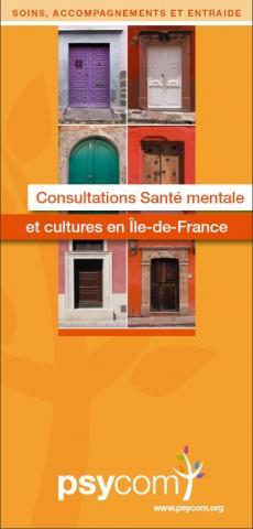 Brochure psycom Consultations Santé mentale et cultures en Ile-de-France